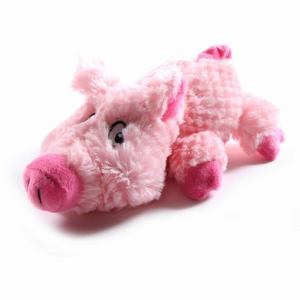 CUDDLIES  Plush Pig Dog Toy