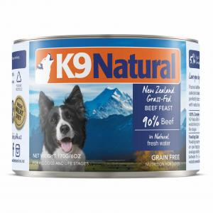 K9 Natural  Beef Feast Cans 170g