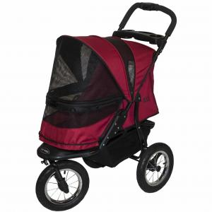 Pet Gear Pet Gear Jogger no-zip stroller - rugged red