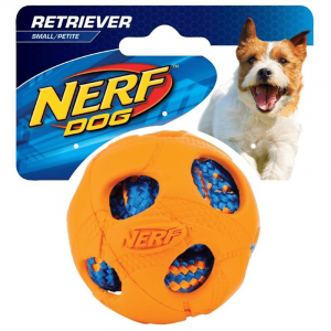 "NERF NERF 2.5"" Rubber Wrapped Ball SML Orange"