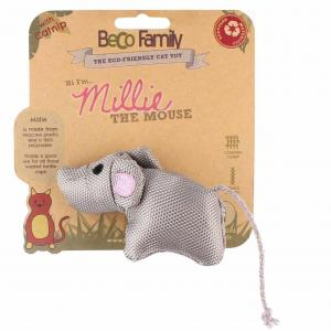 BECO  Catnip Toy Millie The Mouse
