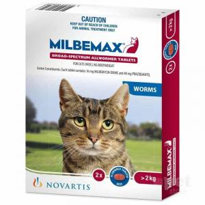 Milbemax Milbemax Wormer for Large Cats 2-8kg