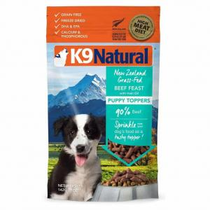 K9 Natural  Puppy Beef Topper 142g