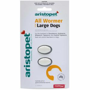 Aristopet Allwormer For Large Dogs 2 pack