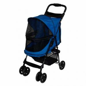 Pet Gear Pet Gear Happy Trails Stroller - Cobalt Blue