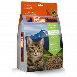 FELINE NATURAL Feline Natural Freeze Dried Chicken & Lamb Cat Food 320g