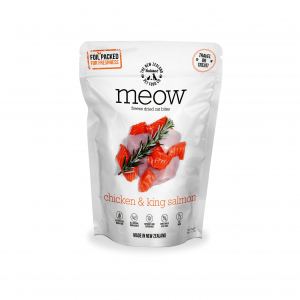 MEOW Meow Freeze Dried Cat Bites Chicken & Salmon 50g