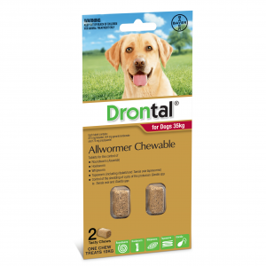 Drontal Drontal Chewable Dog Wormer 35kg