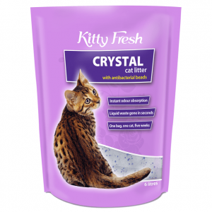 Kitty Fresh Kitty Fresh Crystal Cat Litter 12Ltr