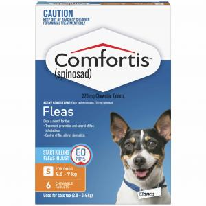 Comfortis Comfortis Chewable Tablet for Dogs 4.6-9kg