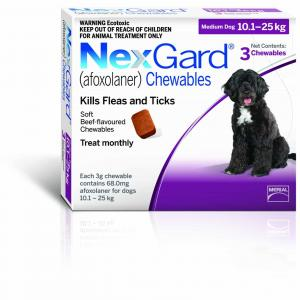 NexGard  Flea & Tick Chewable Tablet For Dogs