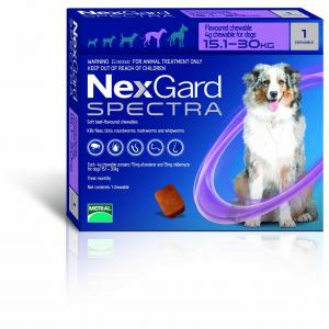 NexGard  Spectra Chewables For Large Dogs 15.1-30kg