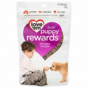 Loveem Love 'Em Puppy Rewards 120g