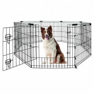 Yours Droolly  Exercise Pen With Door