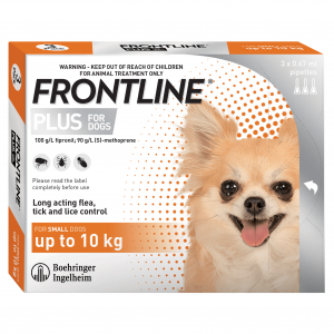 Frontline  Plus Small Dog (0-10 Kg) 1 pack