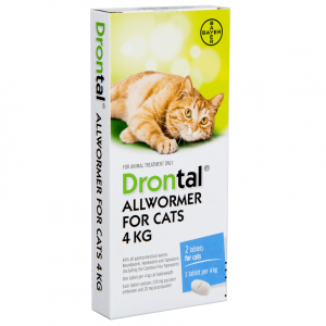 Drontal Drontal - All Wormer Cat 2tb