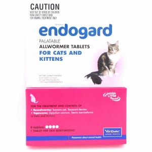 Endogard Endogard Cat/Kitten Wormer 4pk