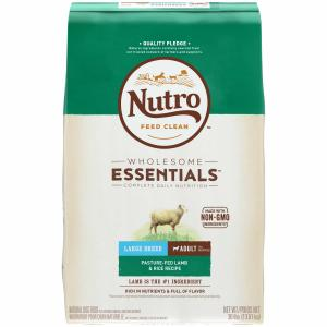 Nutro Nutro Wholesome Essentials Lamb & Rice Large Breed Adult Dry Dog Food 13.6kg