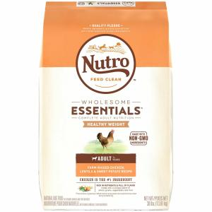 Nutro Nutro Wholesome Essentials Adult Healthy Weight Chicken, Lentil & Sweet Potato 13.6kg