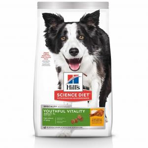 Hill's  Science Diet Adult 7+ Youthful Vitality Senior Dry Dog Food 1.58kg