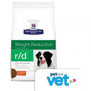 Hill's VET Hill's Prescription Diet r/d Weight Reduction Dry Dog Food - 3.85kg