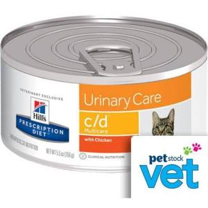 Hill's VET Hill's Prescription Diet c/d Multicare Urinary Care Canned Cat Food - 156g