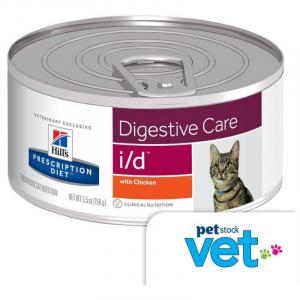 Hill's VET Hill's Prescription Diet i/d Digestive Care Canned Cat Food - 156g