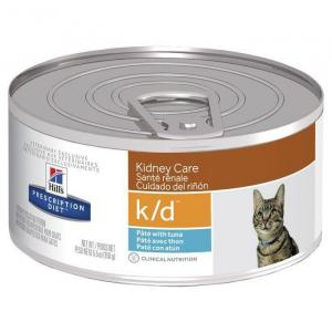 Hill's VET Hill's Prescription Diet k/d Kidney Care with Ocean Fish Canned Cat Food - 156g