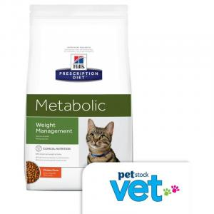 Hill's VET Hill's Prescription Diet Metabolic Weight Management Dry Cat Food - 3.85kg