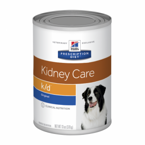 Hill's VET Hill's Prescription Diet k/d Kidney Care with Chicken Canned Dog Food - 370g