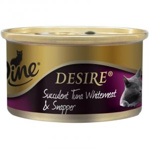 Dine Dine Wet Desire Tuna Whitemeat & & Snapper 85g