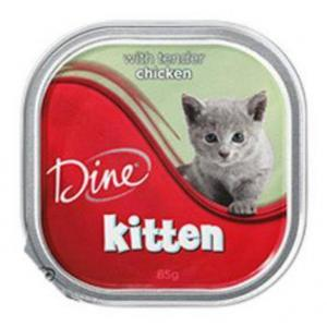 Dine Dine Wet Kitten Chick 85g