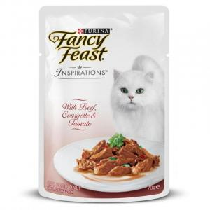 Fancy Feast  Inspirations Beef, Courgette & Tomato 70g