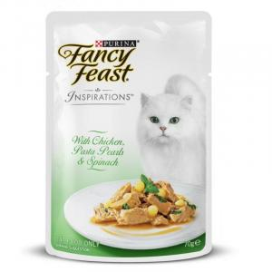 Fancy Feast Fancy Feast Inspirations Chicken Pasta with Spinach 70g
