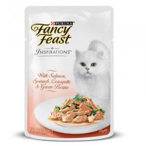 Fancy Feast Fancy Feast Inspirations Salmon, Spinach & Beans 70g