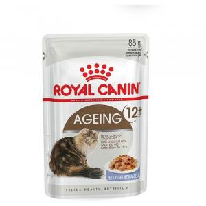 Royal Canin  Ageing +12 In Jelly Wet Cat Food