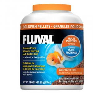 Fluval Fluval Goldfish Small Sinking Pellets - 90gm