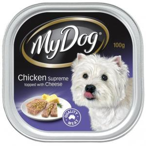 My Dog  Chicken Supreme With Cheese Wet Dog Food