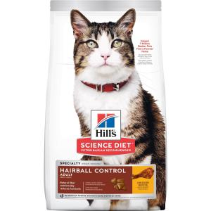 Hill's Hill's Science Diet Adult Urinary Hairball Control Dry Cat Food Chicken 1.58kg