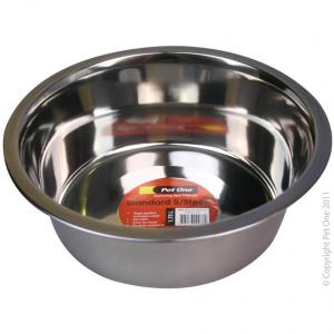 Pet One Pet One Standard Stainless Steel Bowl 1.75L