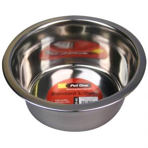 Pet One Pet One Standard Stainless Steel Bowl 750ml