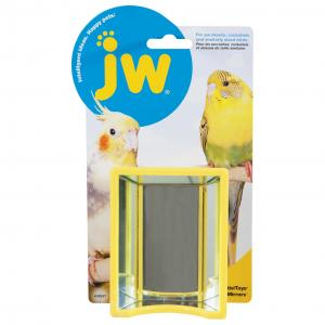JW JW Insight Bird Hall Of Mirrors Bird Toy - Assorted Colours