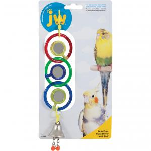 JW JW Insight Bird Triple Mirror - Assorted Colours