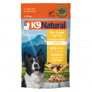 K9 Natural K9 Natural Freeze Dried Chicken Feast Topper 100g