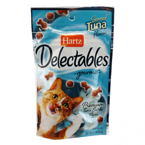 Hartz Hartz Delectables Treats For Cats With Seared Tuna Flavour - 60g