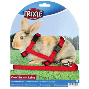 Trixie  Rabbit Harness And Lead Set - Assorted Colours