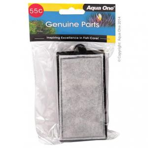 Aqua One AO Cartridge Carbon 280 Clear View