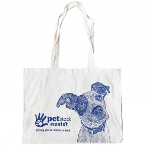 PETSTOCK ASSIST PETstock Assist Calico Dog Tote Bag