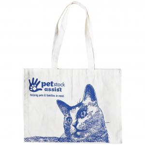 PETSTOCK ASSIST PETstock Assist Calico Cat Tote Bag