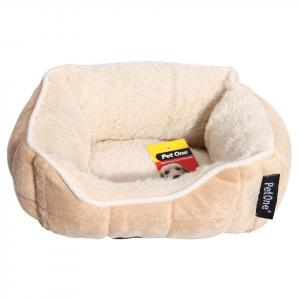 Pet One Pet One Small Animal Plush Lounger Latte 20cm